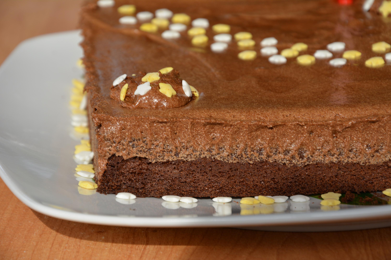 Gateau au chocolat pour anniversaire adulte