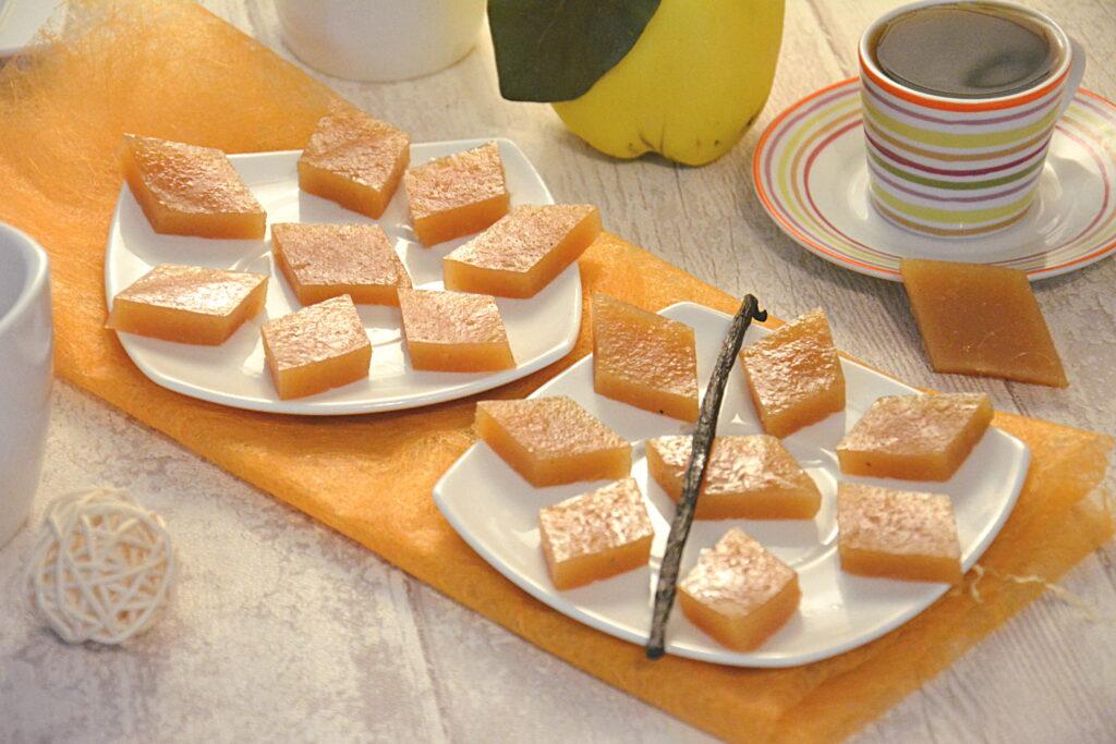 pâte de coing vanille