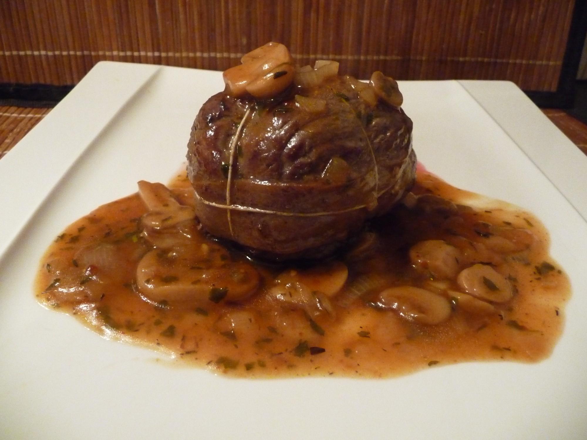 Alouettes sauce chasseur paupiettes de boeuf au fil du thym - Quelle friteuse pour graisse de boeuf ...