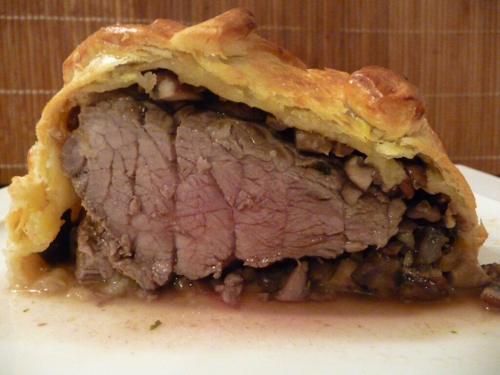 recette rôti boeuf en croûte (de champignons) - recette festive mais facile à réaliser