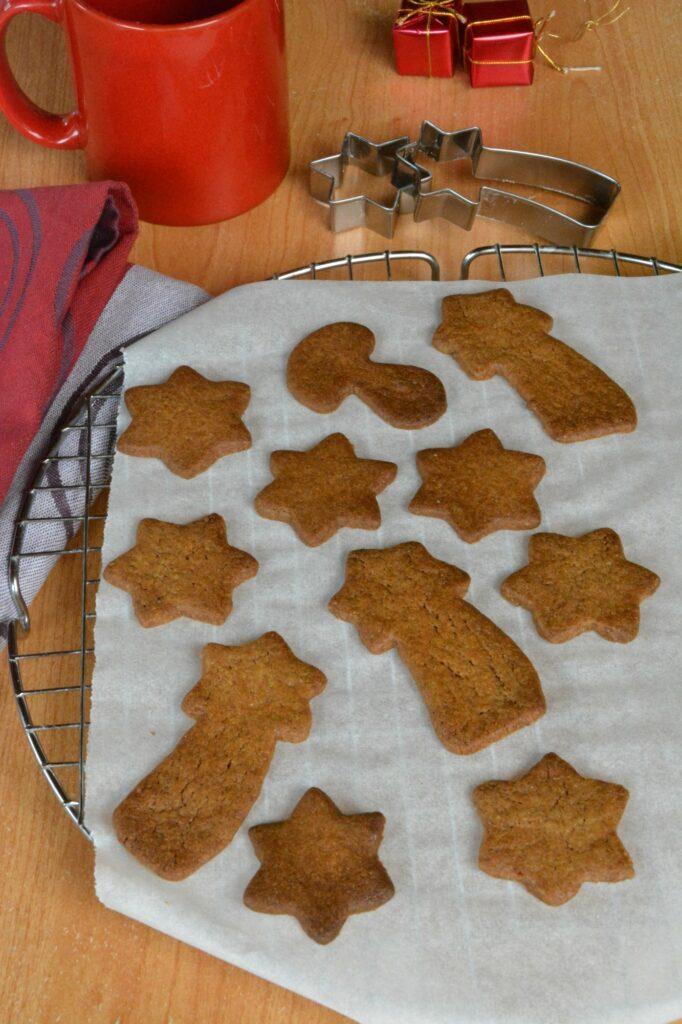 biscuits sablés pain d'épice
