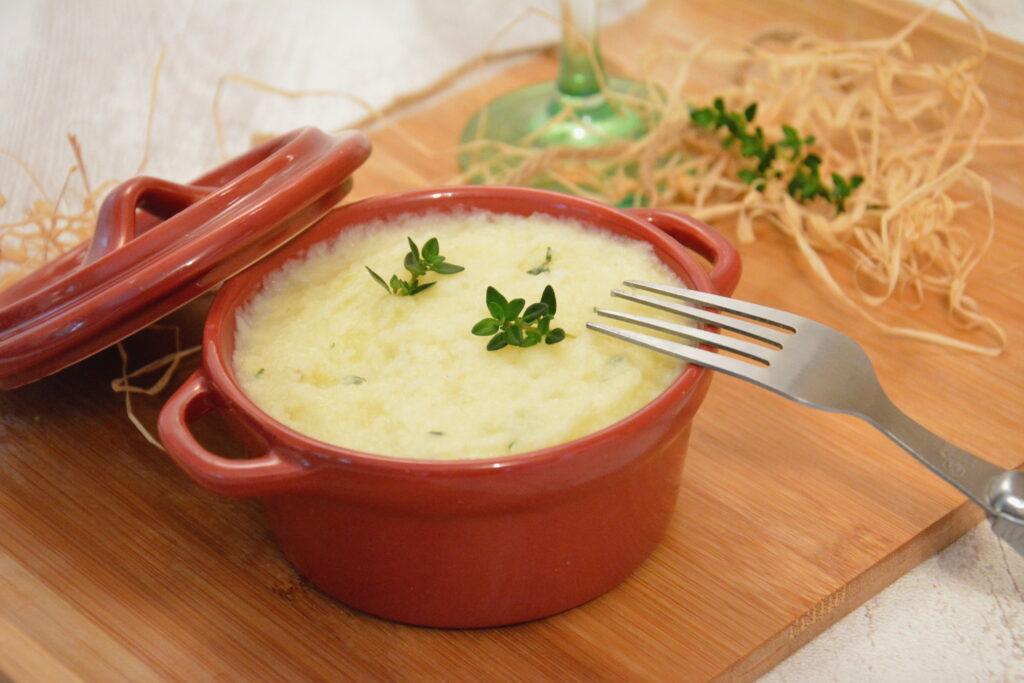 Purée panais au thym - un délicieux accompagnement d'hiver